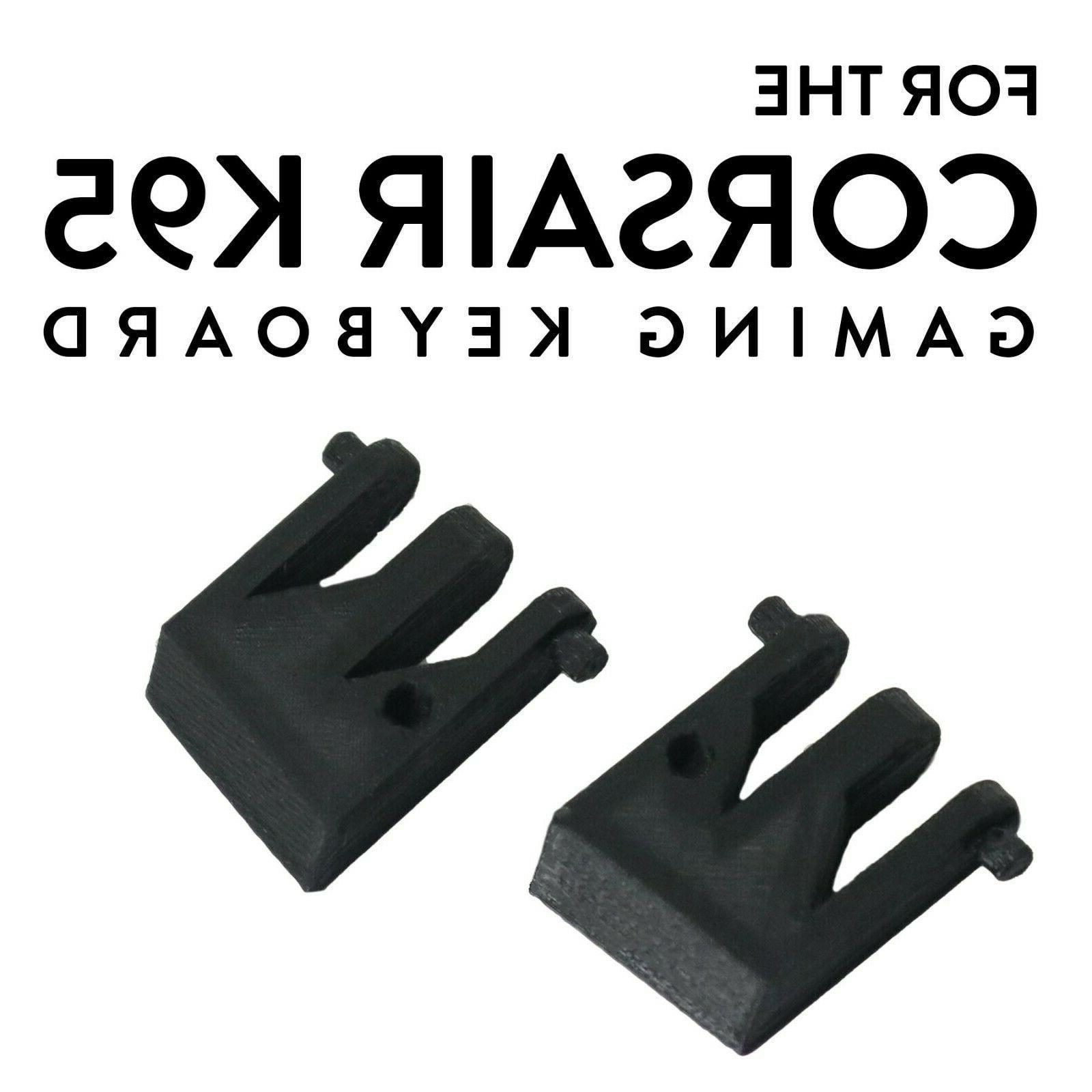 2pcs k95 platinum keyboard feet foot replacement