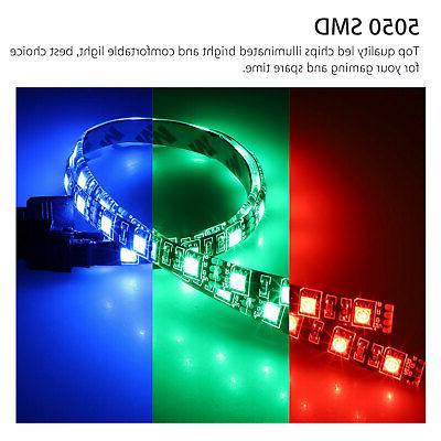 3Pcs LED Strip Lighting Gamer DIY Aura Sync