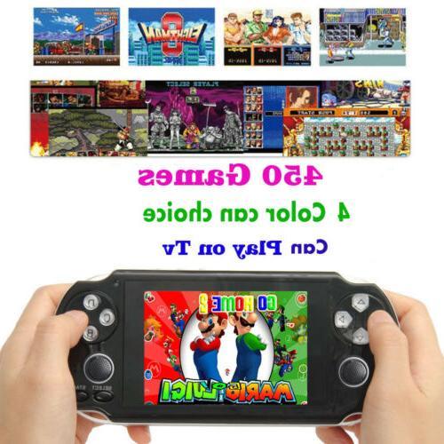 4.3'' NES Games Video MP3 MP4 4GB-