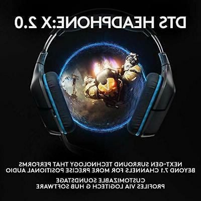Logitech DTS:X Gaming Headset