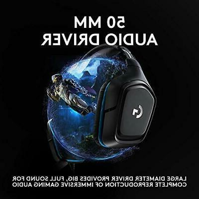 Logitech G432 DTS:X 7.1 Surround Gaming Headset