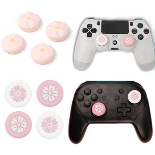 4pc controller game accessories thumb stick grip