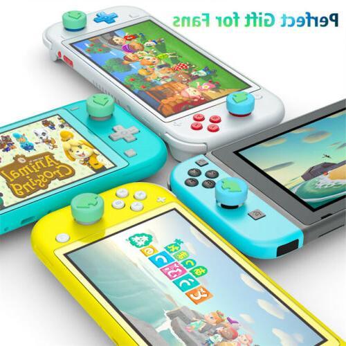 4Pc Accessories Leaf Silicone Joystick Thumb Caps