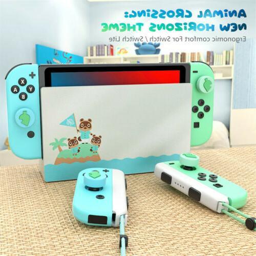 4Pc Nintendo Switch/Lite Accessories Leaf Joystick Thumb Caps