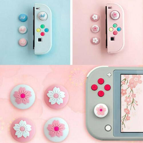 4pc for nintendo switch lite accessories silicone