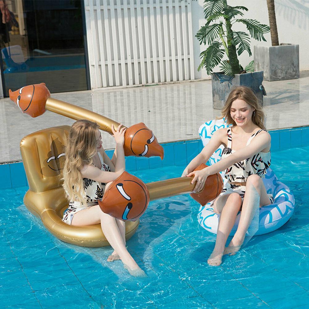4pcs Toy Sticks Toilet Shape Summer Floating