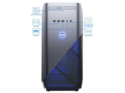 Dell 5680 Gaming i7-8700, SSD, GTX 10 Pro