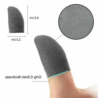 5Pcs PUBG Gaming Finger Sleeve Game Mobile Sweatproof