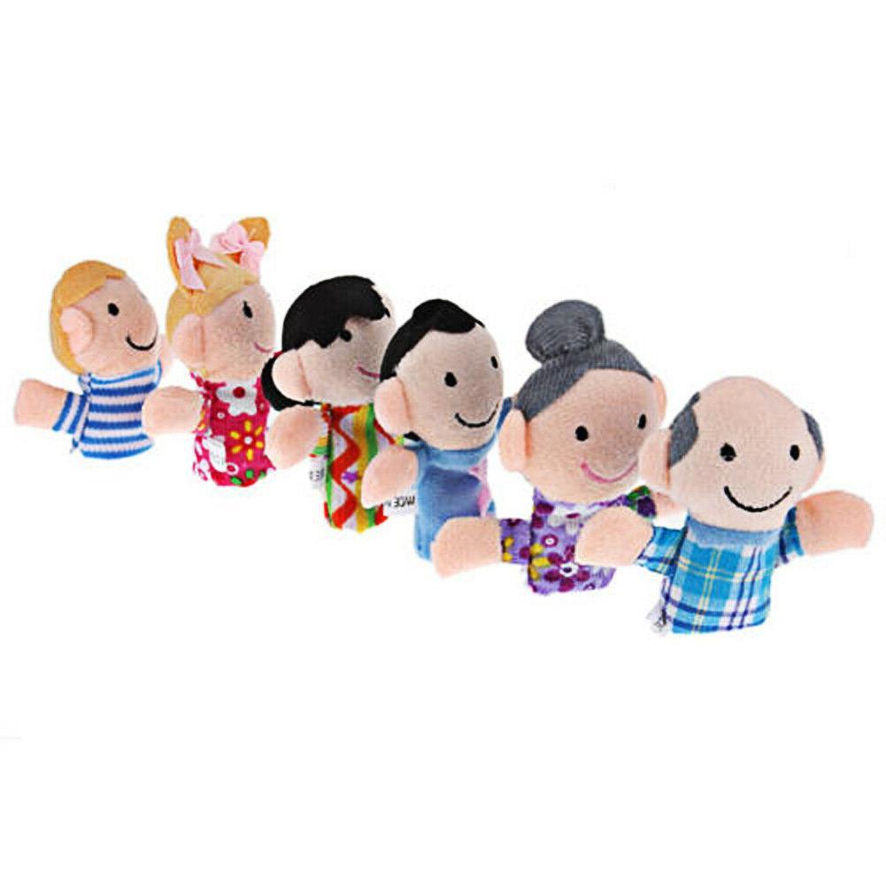6pcs Cloth Game Story Toys