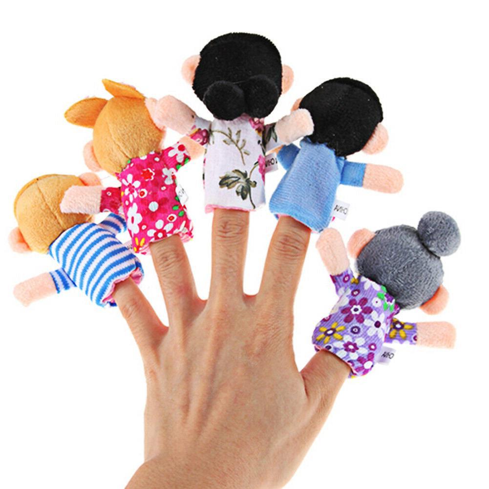 Cloth Play Story Family Toys