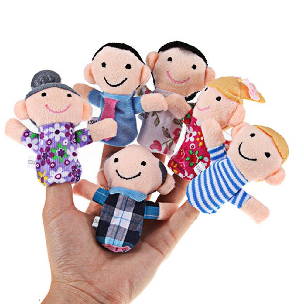 6pcs Baby Cloth Play Story Toys