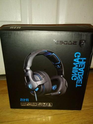 7.1 Stereo Sound PC SADES R15 Gaming