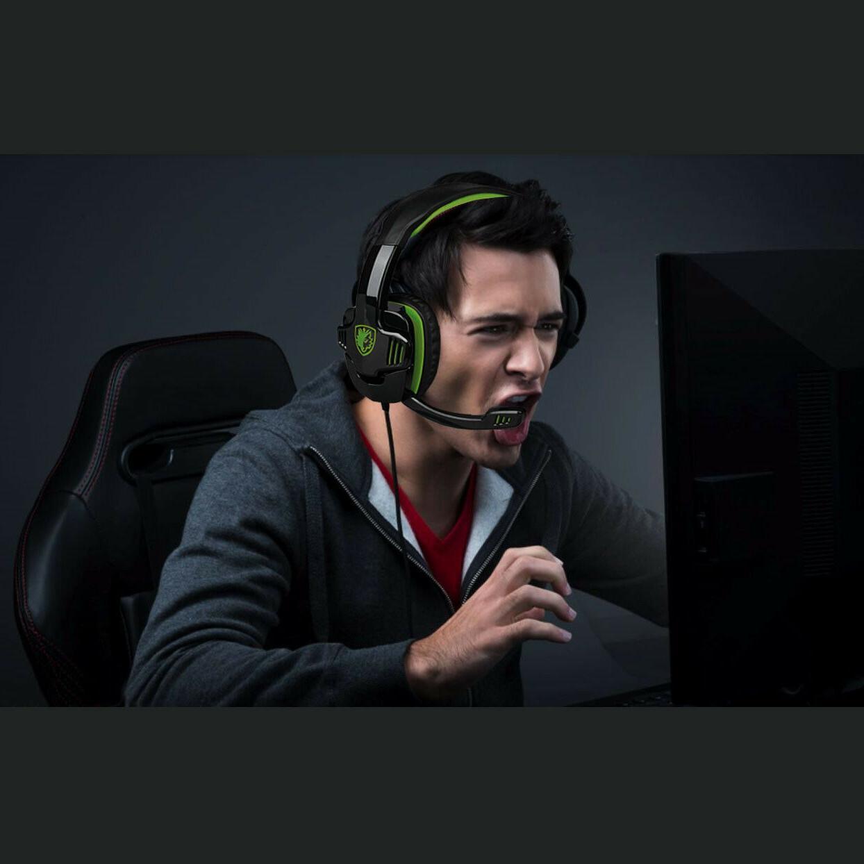 SADES Headphone For PS4 Laptop