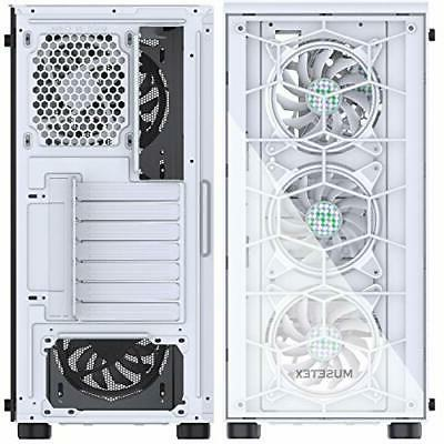 ATX Mid-Tower Case with G05MS6-BB(6PCS FANS REMOTE