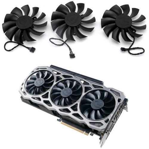 For EVGA FTW3 PLA09215B12H Graphics Card Cooling Fan