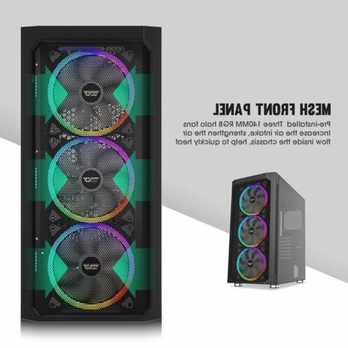 darkFlash DF140 Full Computer Case RGB Fan