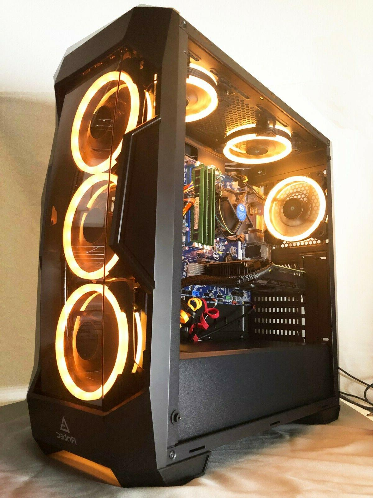 Gaming Intel i7-3.40GHz,120GB SSD,16GB,2TB,Nvidia GTX1060,WiFi,Win10