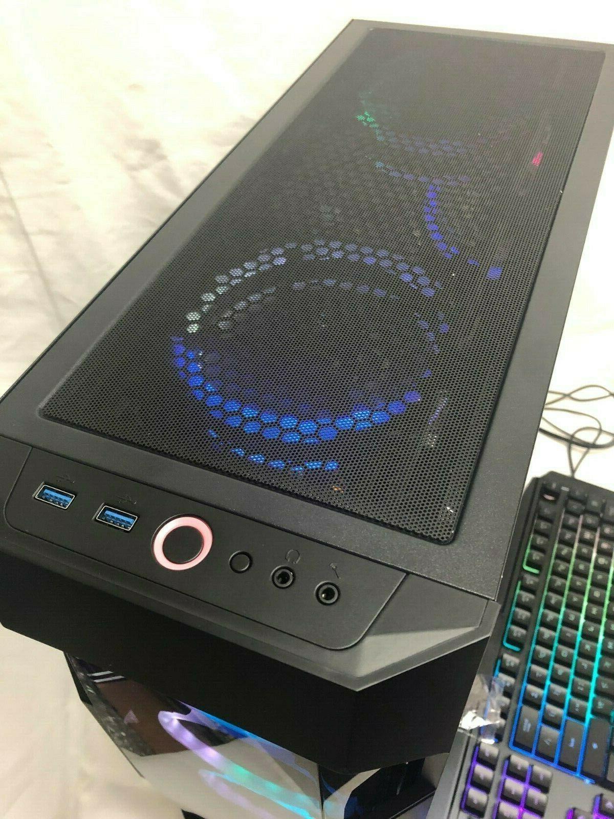 Gaming Intel i7-3.40GHz,120GB SSD,16GB,2TB,Nvidia