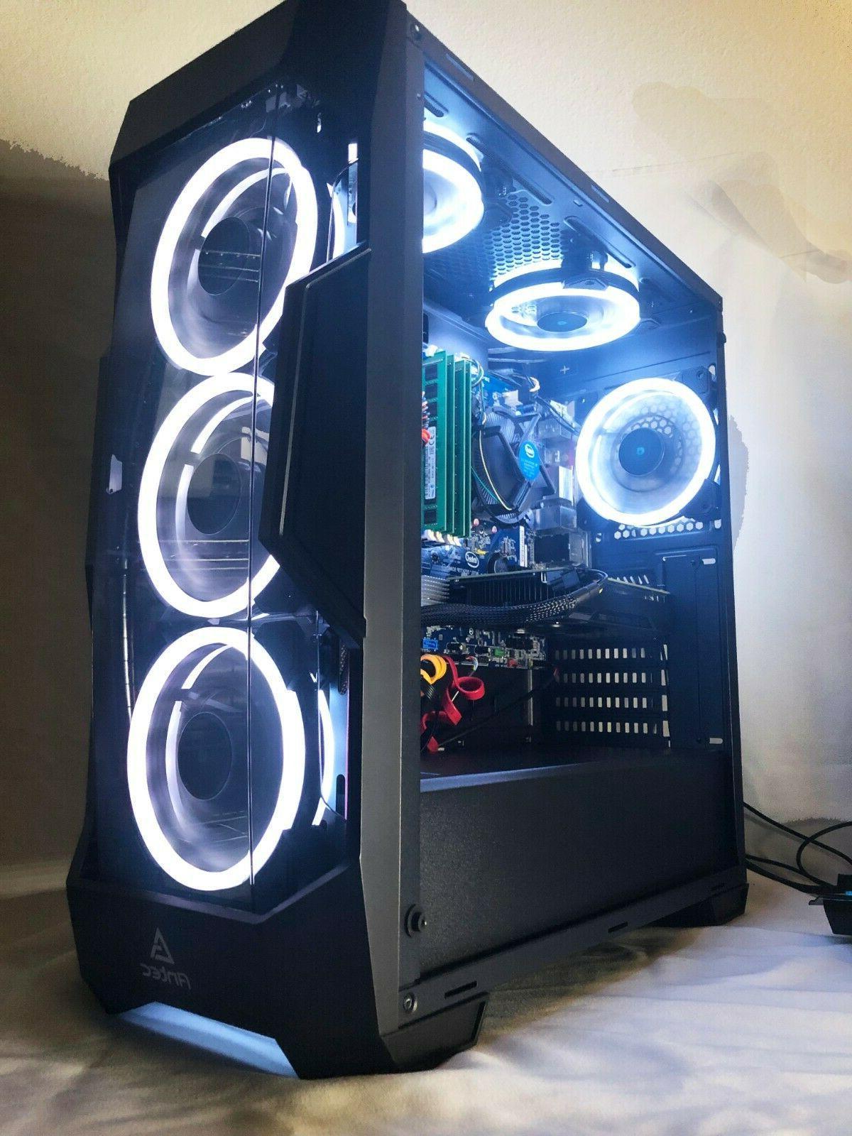 Gaming Computer i7-3.40GHz,120GB SSD,16GB,2TB,Nvidia GTX1060,WiFi,Win10
