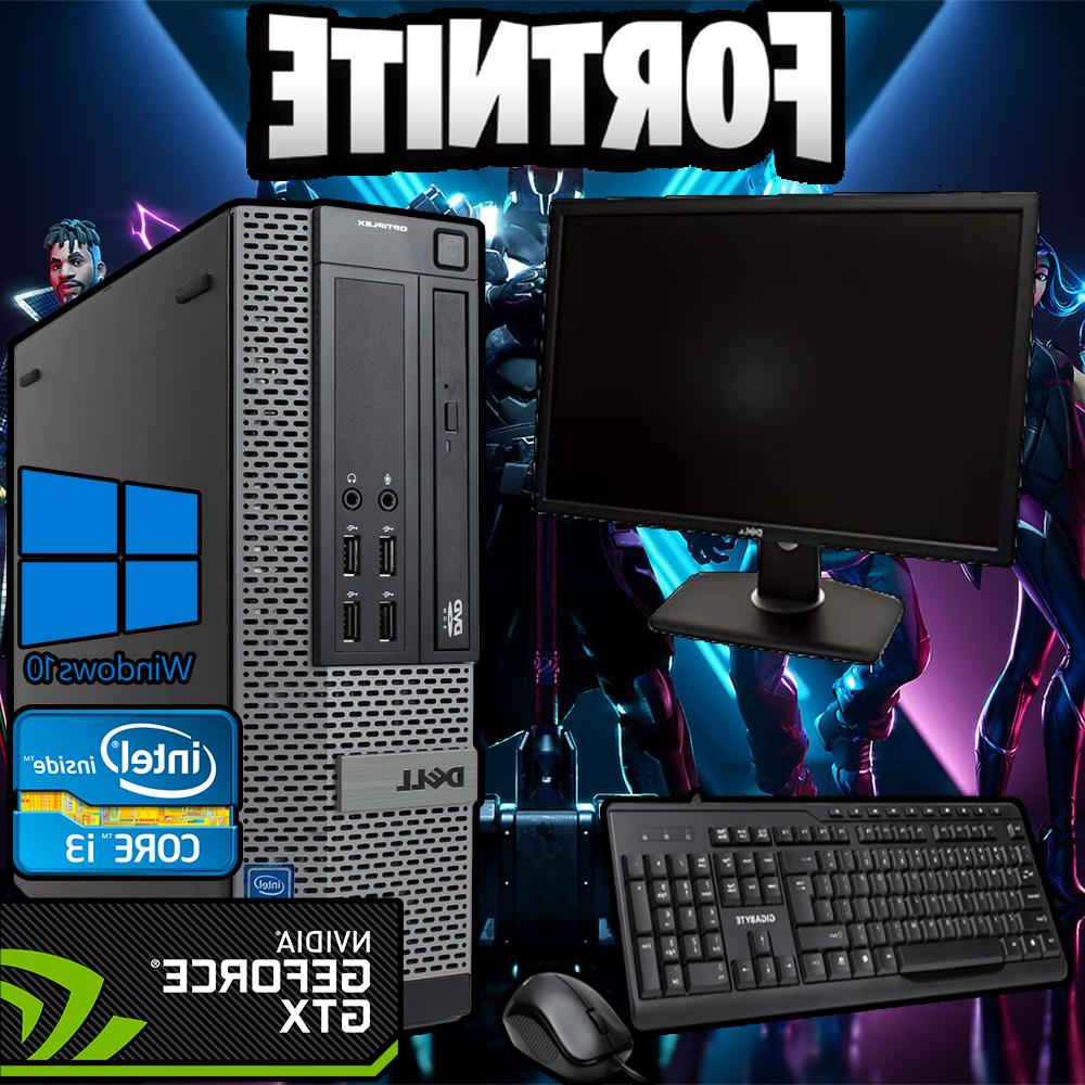 gaming pro budget intel i3 fortnite desktop