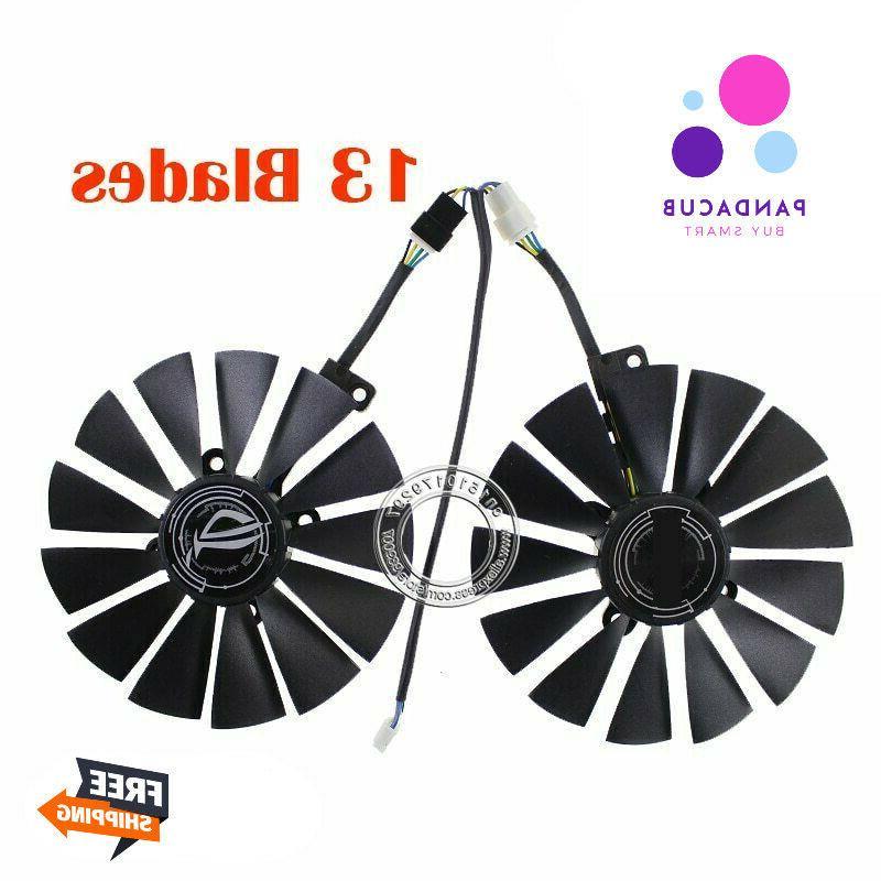 Graphics Card Cooler T129215SM Fan For ASUS STRIX RX570 4G G