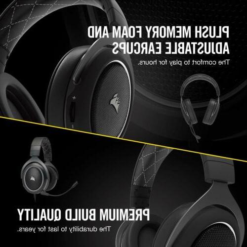 CORSAIR Â 7.1 Virtual Surround Sound PC Gaming Headphones
