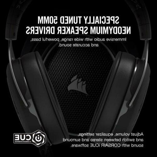 CORSAIR Virtual Surround Gaming Headphones