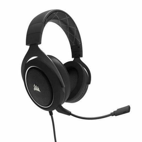 CORSAIR HS60 Virtual Sound PC Gaming Headset Headphones