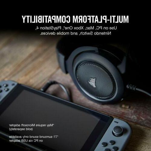 CORSAIR Virtual Gaming w/USB Headphones