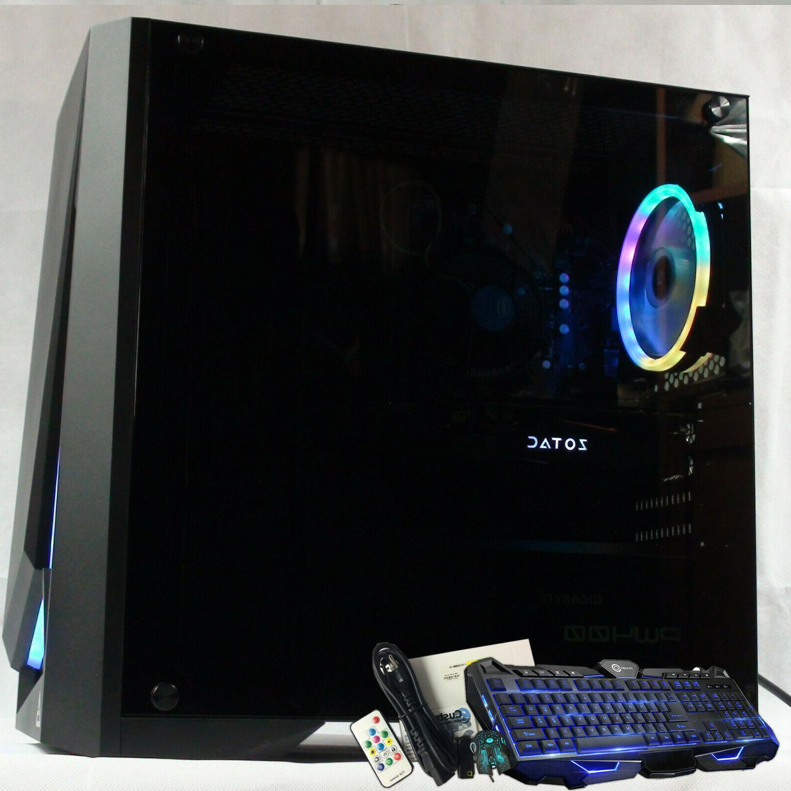 Intel i9-9900K Gaming Computer 2TB 16GB GeForce GTX 1080