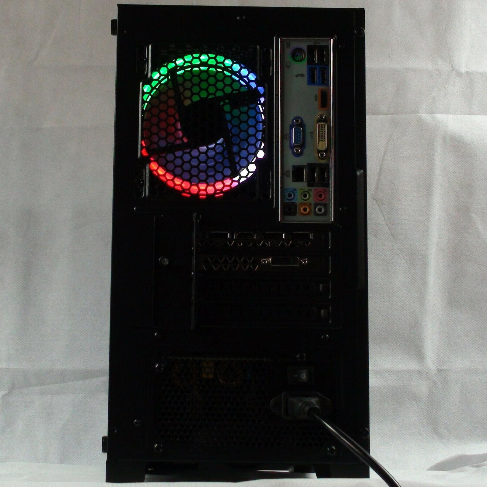 Intel 5.0G Gaming PC Computer 2TB 16GB GeForce GTX 1080