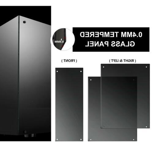 darkFlash ATX Phantom Gaming DIY PC Case+6pcs RGB Fans