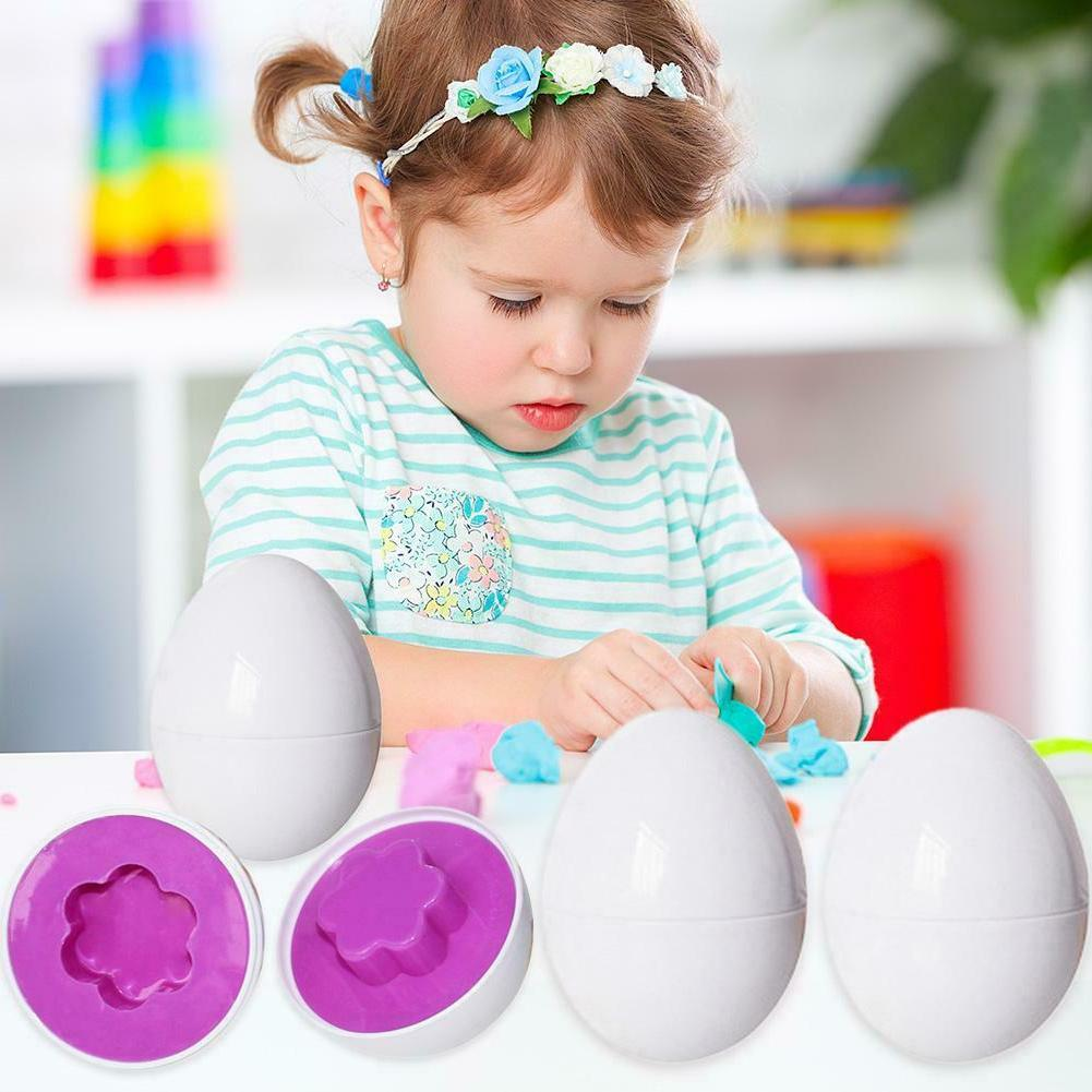 Montessori Learning Math Toys 3pcs Eggs Puzzle for