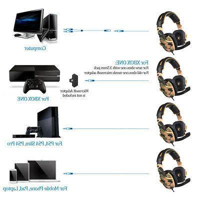 SADES Music 3.5mm 3D Stereo BASS PC