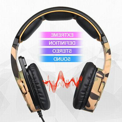SADES 3.5mm 3D Stereo BASS Over Headband PC
