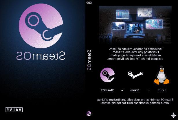 Steam - A Designed DVD or 16GB USB Stick