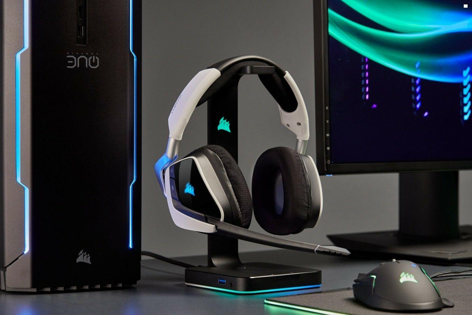 PRO Headset Headphone PC White