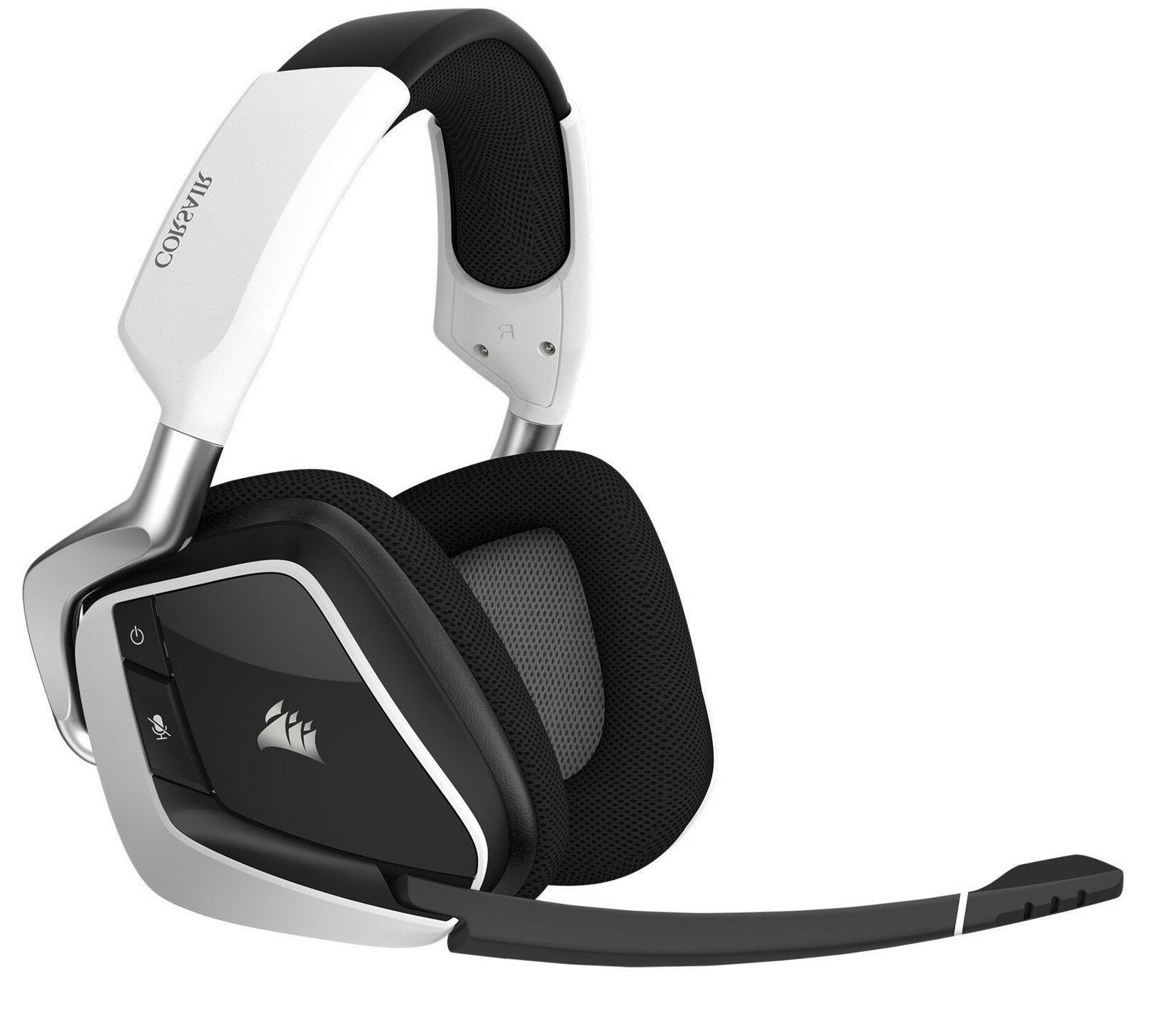 PRO Headset PC Gaming w White