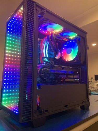 RYZEN 3700X GTX 1080 Ti Built Gaming 32GB SSD+2TB