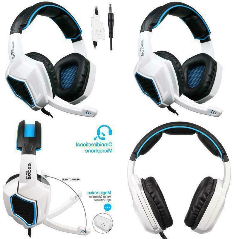 Sades Stereo Gaming Headset Headphone for New Xbox one PC laptop