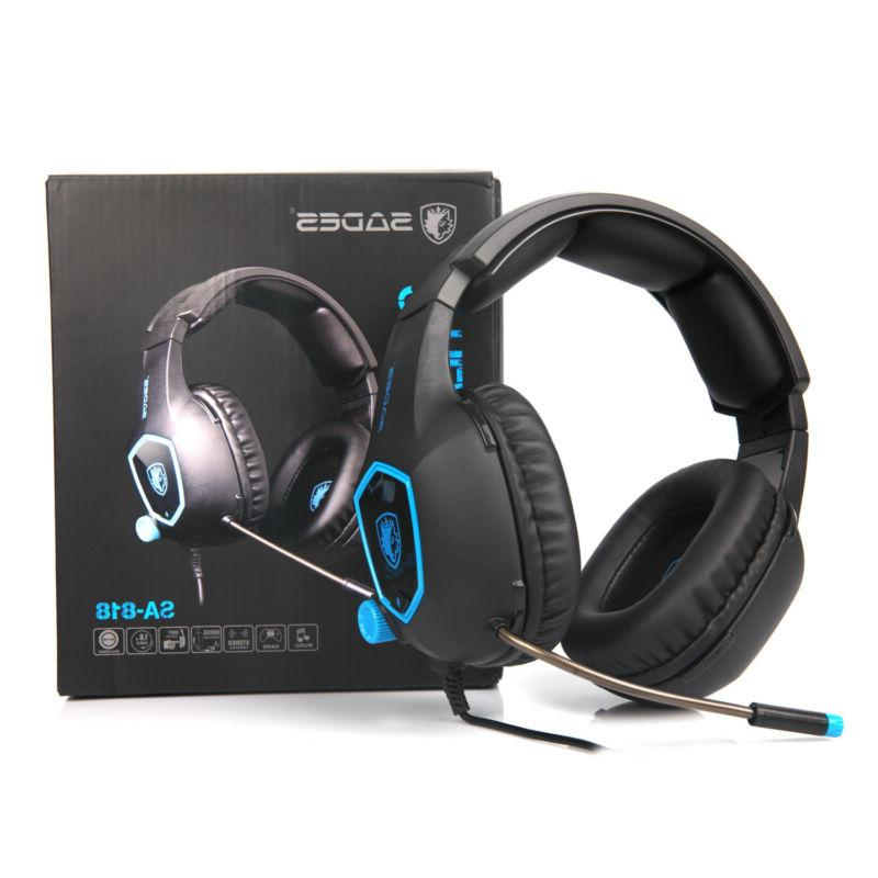 SADES Gaming Headset for Xbox PC Sound 3.5mm Headphone