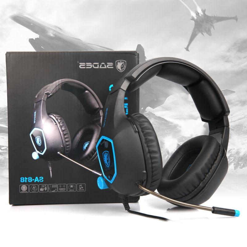 sa818 gaming headset for ps4 xbox one