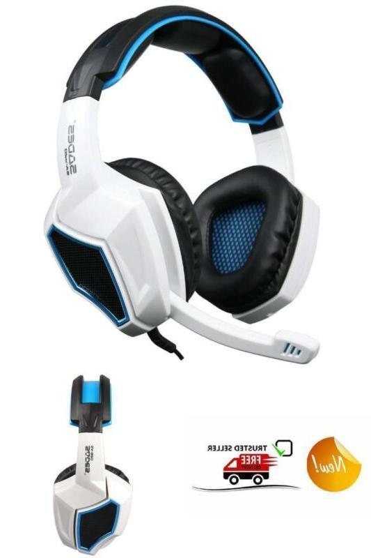 Sades SA920 Stereo Headset New Xbox one laptop