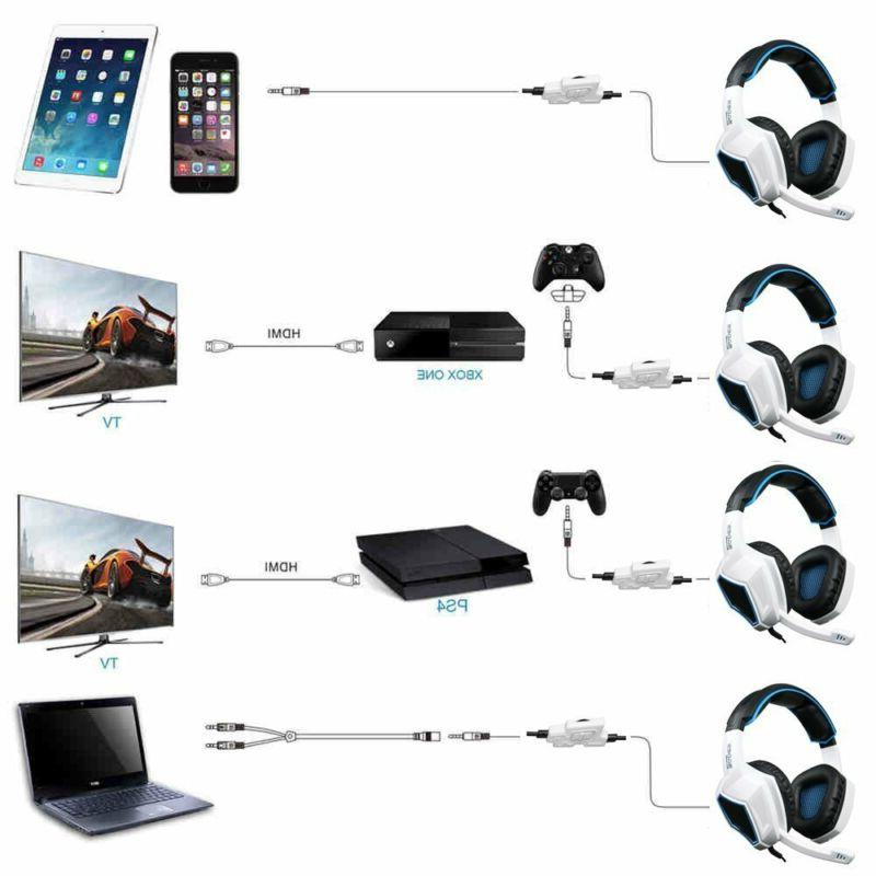 Sades Stereo Gaming Headset Headphone New one PC laptop