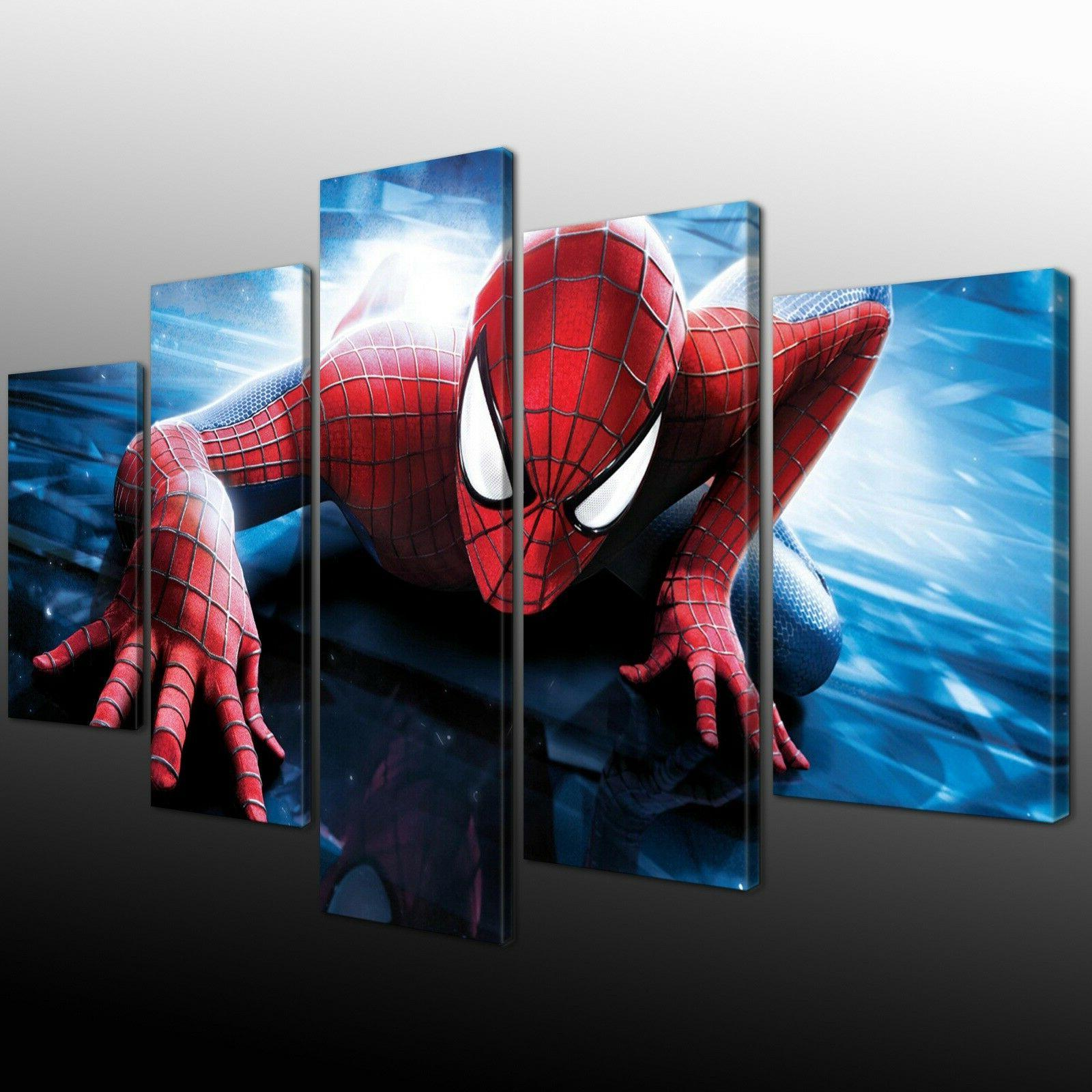 Spiderman marvel Game 5PCS Home Painting