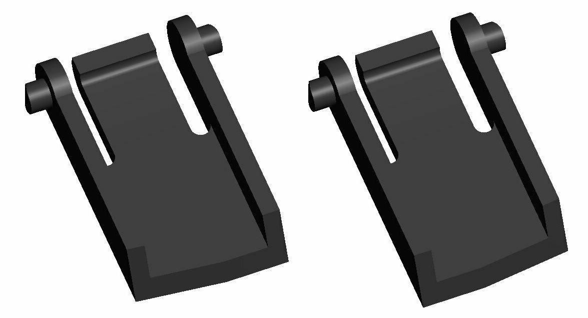 STRONGER G11 Gaming Keyboard Tilt Foot/Leg/Feet 2pcs Set