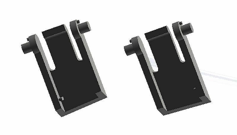 STRONGER Logitech Gaming Keyboard Replacement 2pcs Set