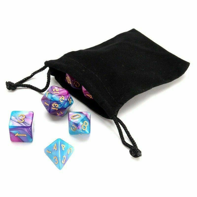 USA Polyhedral Set for DND MTG