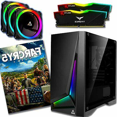 Far & Gaming PC AMD Sapphire Pulse 8GB I5-9400F,1TB,240GB SSD