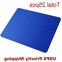 lot 25pcs Blue Gaming Mouse Pad Large Size Desk Keyboard Mat